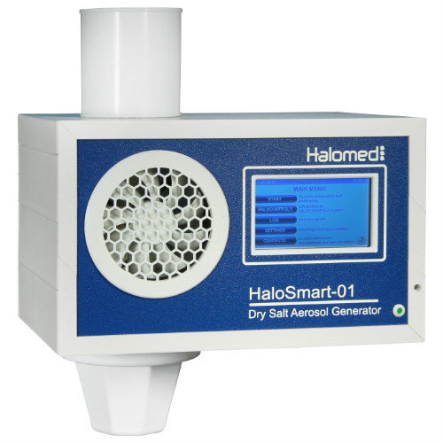 halomed halosmart salt room therapy equipment for day spa
