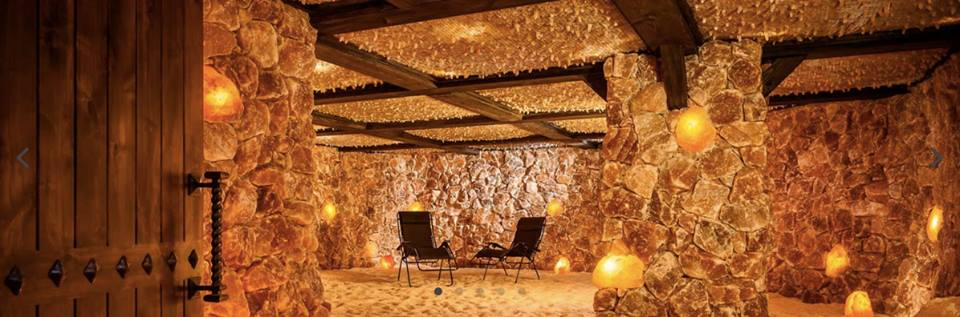 Largest salt room (salt cave) in USA - best salt room interior design and decoration